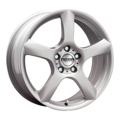 Mega Wheels Silvera